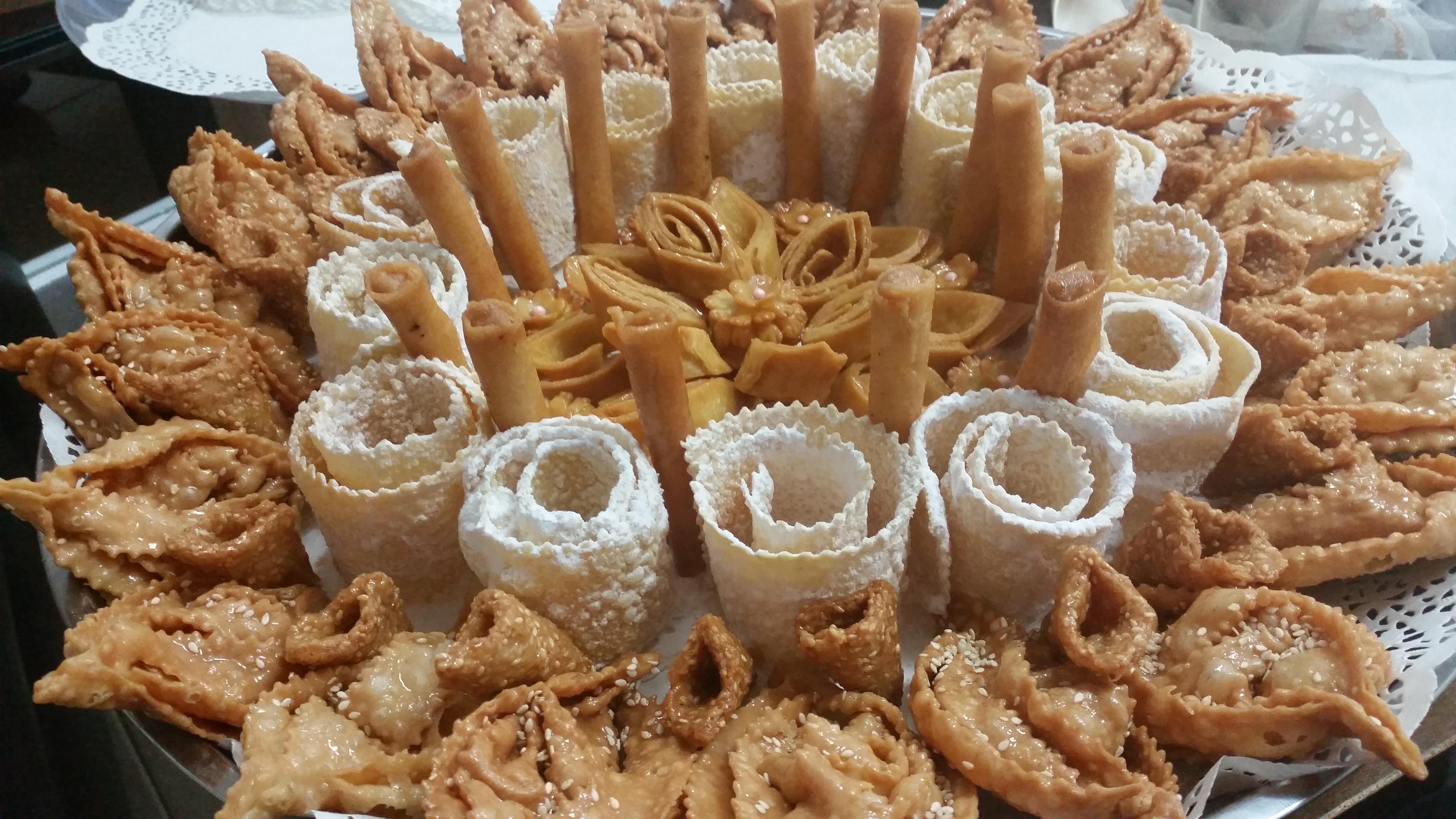 עוגיות מתוקות בדבש